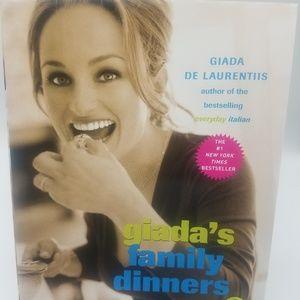Giada's family dinners cookbook